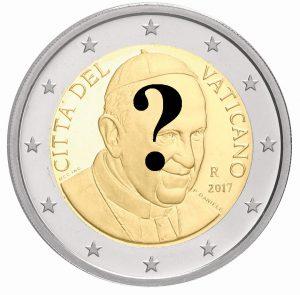 Aktuell noch nicht offiziell bestätigt: Motivänderung der Vatikan Kursmünzen 2017