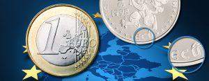 """16. Dezember 1995 – die Bezeichnungen """"Euro"""" und """"Cent"""" werden für unsere künftige Gemeinschaftswährung festgelegt"""