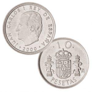 Spanien 10 Pesetas 2000