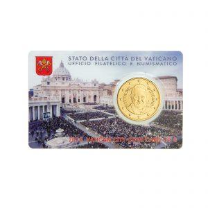 Vatikan 50 Cent 2015 Coincard
