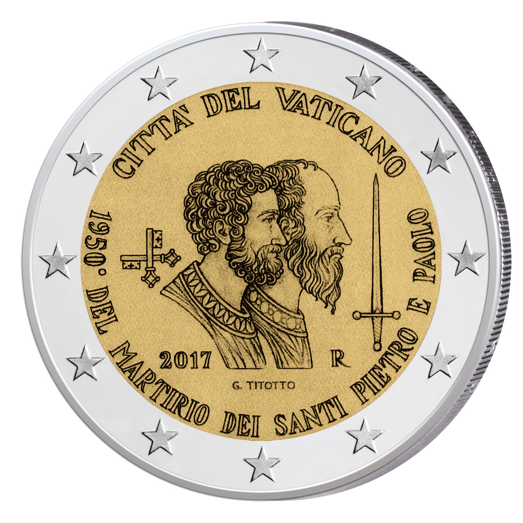 Vatikan 2 Euro Münze Weltfamilientreffen In Philadelphia Im Folder