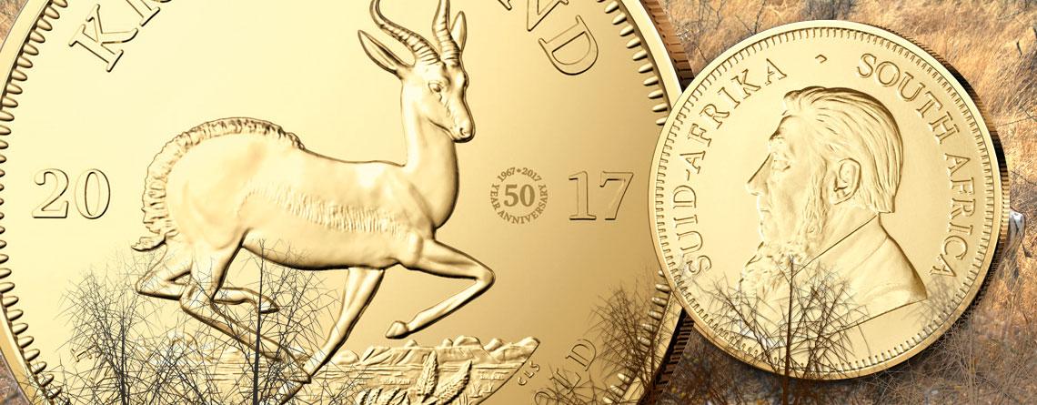 50 Jahre Krügerrand – die berühmteste Goldmünze der Welt feiert Jubiläum