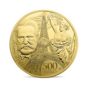 Frankreich 500 Euro 2017, 999er Gold, 5 Unzen (155,5g), Ø 50mm, Polierte Platte, Auflage: 99