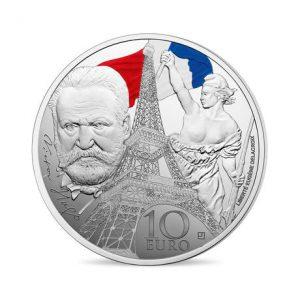 Frankreich 10 Euro 2017, 900er Silber, Farbapplikation, 22,2g, Ø 37mm, Polierte Platte, Auflage: 20.000