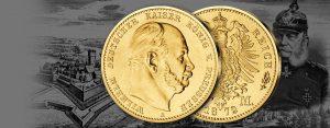 Des Kaisers prägefrisches Gold aus dem Reichskriegsschatz