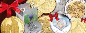 Münzen zu jedem Anlass - Geschenktipps zu Weihnachten, Geburtstag etc.