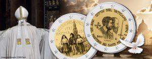 Vatikan 2 Euro Gedenkmünzen 2017 – Themen, Motive, Informationen