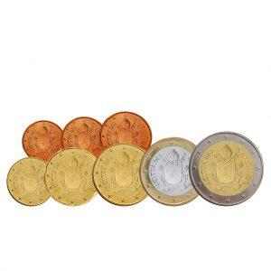 Die neuen Euro-Münzen des Vatikan 2017, neue Motive ohne Papst Franziskus – Quelle Amtsblatt der Europäischen Union (2017/C23/06)