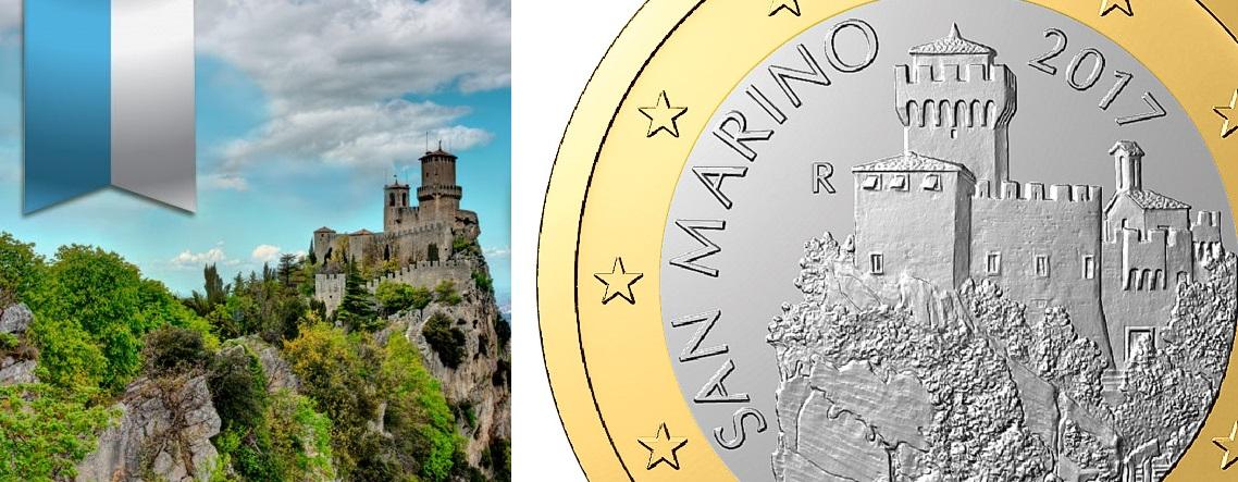 San Marino 2017 – neue Motive für Euro-Sammler