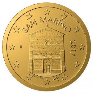 San Marino 10 Cent 2017 (Zweite Serie)