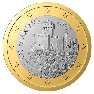 San Marino, 1 Euro 2017 (Zweite Serie)