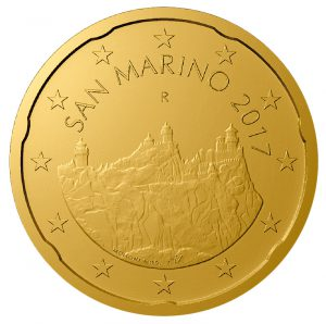 San Marino 20 Cent 2017 (Zweite Serie)