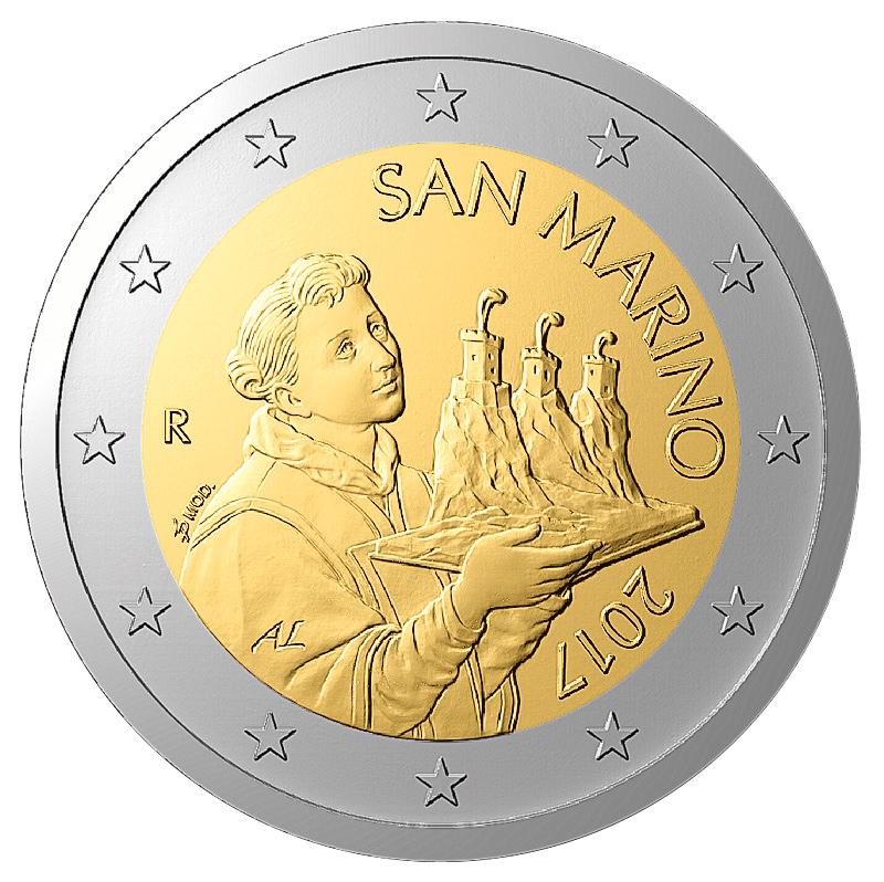 San Marino 2017 Neue Motive Für Euro Sammler Primus Münzen Blog