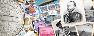 """Sammelthema """"Zeppelin"""" auf Briefmarken und Münzen"""
