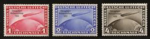 Deutsches Reich Chicagofahrt Weltausstellung 1933, Michel 496 / 498