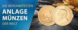 Die berühmtesten Anlagemünzen der Welt: der Krügerrand