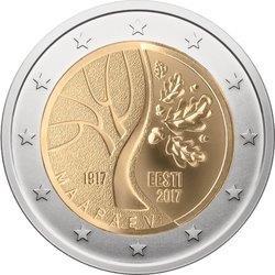 """Estland 2 Euro-Gedenkmünze 2017 """"Estlands Weg in die Unabhängigkeit"""""""