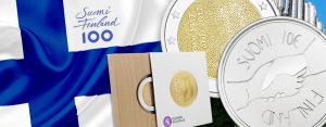 Finnland feiert numismatisch - Münzen zum Jubiläum der Unabhängigkeit