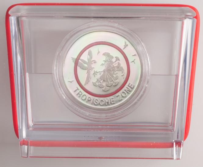 Motiv Veröffentlicht Brd 5 Euro Münze 2018 Subtropische Zone