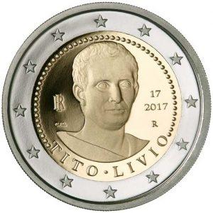 """Italien 2 Euro-Gedenkmünze 2017 """"2.000 Todestag von Titus Livius"""""""