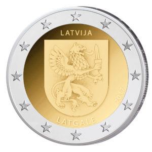 "Lettland 2 Euro-Gedenkmünze 2017 ""Latgale – Lettgallen"""