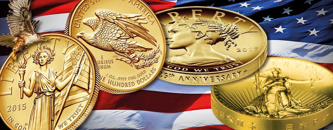 USA Gold im Focus: Goldmünzen in High Relief