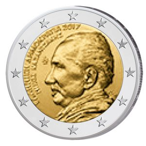 Griechenland 2 Euro-Gedenkmünze 2017 - 60. Todestag von Nikos Kazantzakis