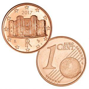 Italien 1 Cent 2017, Motivseite: Castel del Monte