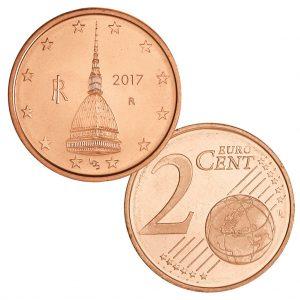 Italien 2 Cent 2017 Motivseite Mole Antonelliana