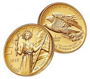 USA 100 Dollars 2015 American Liberty