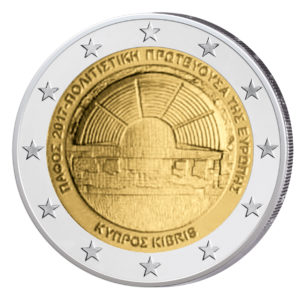 """Zypern 2 Euro-Gedenkmünze 2017 """"Paphos – Kulturhauptstadt Europas 2017"""""""