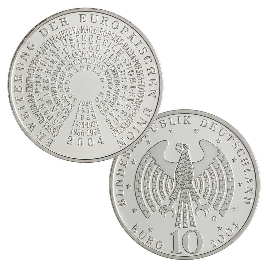 10 Euro Münzen Aus Deutschland 2004 Primus Münzen Blog