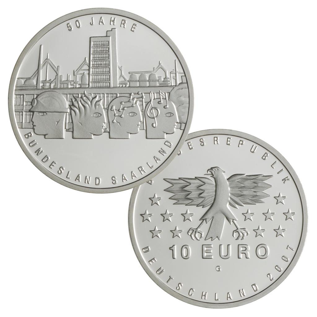 10 Euro Münzen Aus Deutschland 2007 Primus Münzen Blog