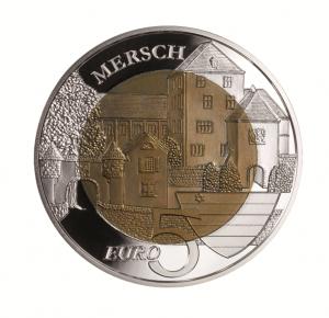 """Luxemburg 5 Euro 2011 """"Burg Mersch"""""""