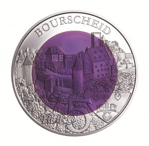 """Luxemburg 5 Euro 2012 """"Burg Bourscheid"""""""