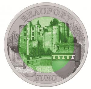 """Luxemburg 5 Euro 2013 """"Burg Beaufort"""""""