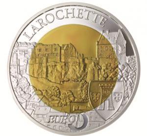 "Luxemburg 5 Euro 2014 ""Burg Larochette"""