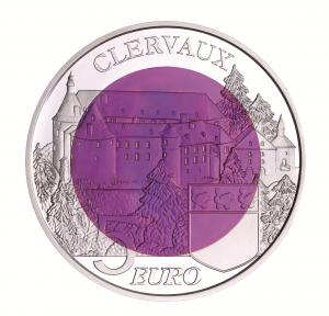 """Luxemburg 5 Euro 2016 """"Burg Clervaux"""""""