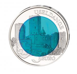 "Luxemburg 5 Euro 2017 ""Burg Useldingen"""