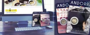 Endlich ausgegeben – Andorra 2 Euro-Gedenkmünzen 2016