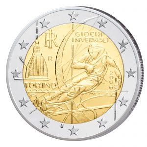 Italien 2 Euro-Gedenkmünze 2006 - Olympische Winterspiele Turin