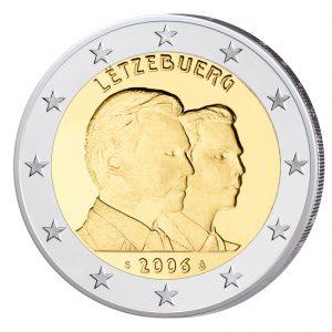 Luxemburg 2 Euro-Gedenkmünze 2006 - 25. Geburtstag Erbgroßherzog Guillaume