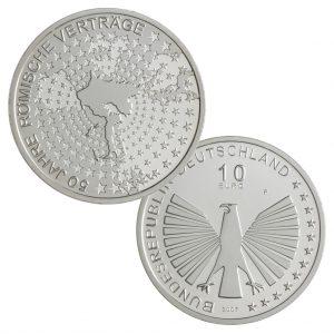 BRD 10 Euro 2007 50. Jahre Römische Verträge