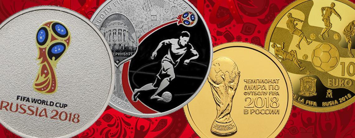 Münzen zu Russland 2018 – Weltmeisterliche Sammlerstücke für Fußballfans