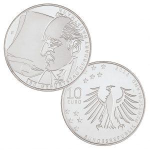 BRD 10 Euro 2012 150. Geburtstag Gerhart Hauptmann