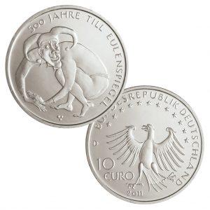 BRD 10 Euro 2011 500 Jahre Till Eulenspiegel