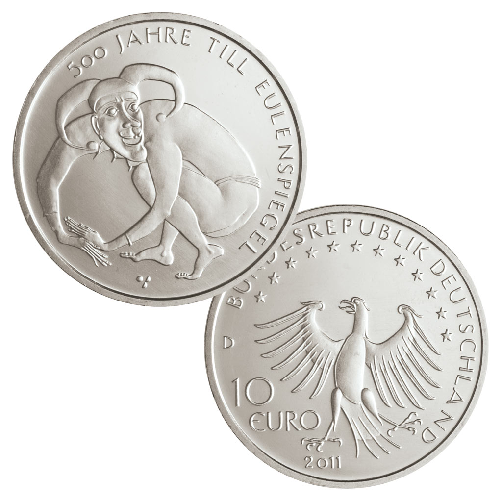 10 Euro Münzen Aus Deutschland 2011 Primus Münzen Blog
