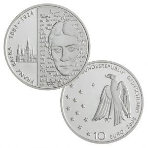 10 Euro Münzen aus Deutschland 2008