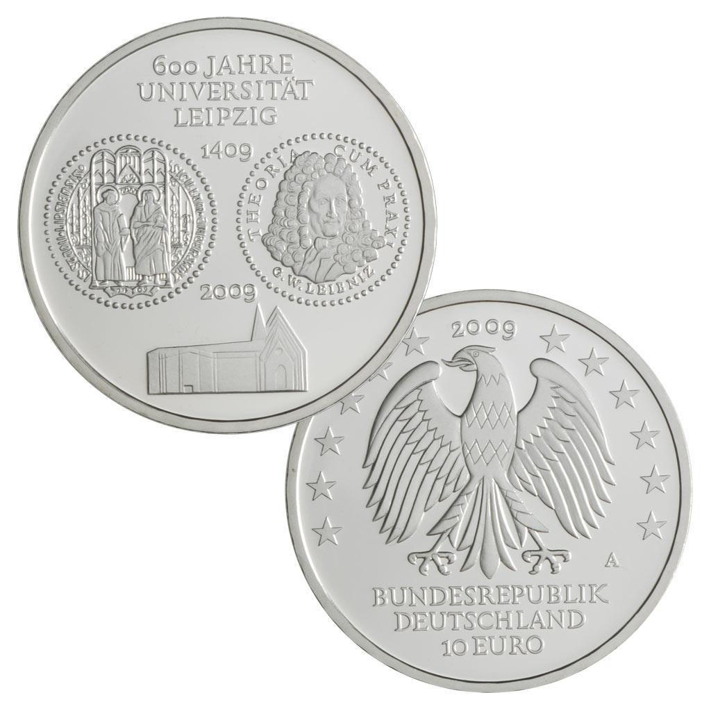 10 Euro Münzen Aus Deutschland 2009 Primus Münzen Blog