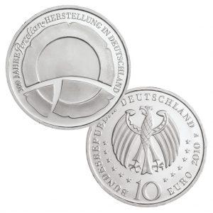 BRD 10 Euro 2010 300 Jahre deutsche Porzellanherstellung
